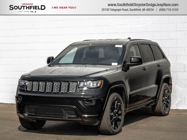 New 2018 Jeep Grand Cherokee Altitude Sport Utility In Southfield