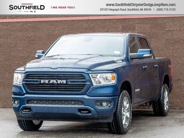New 2019 Ram All New 1500 Big Horn Lone Star Crew Cab In Southfield