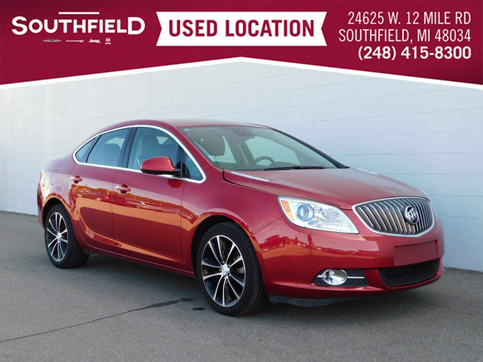 Pre-Owned 2016 Buick Verano Sport Touring