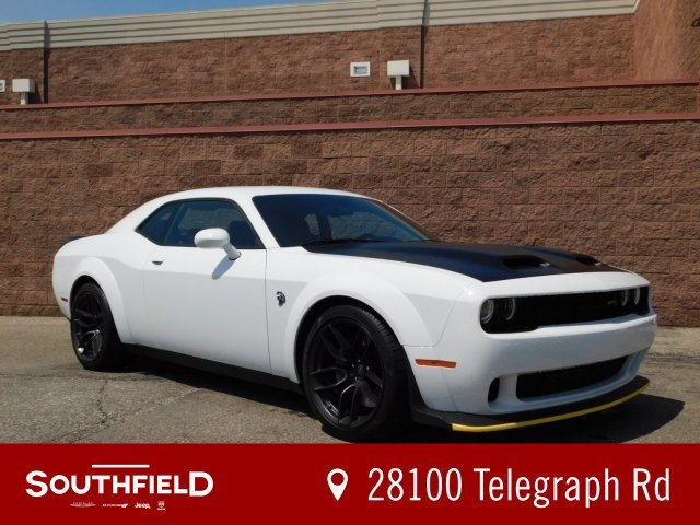 Hellcat Challenger For Sale >> New 2019 Dodge Challenger Srt Hellcat Redeye Coupe In Southfield