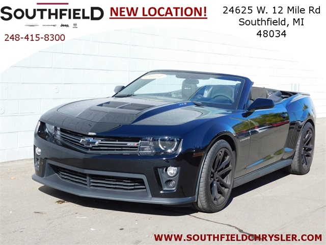 Pre Owned 2014 Chevrolet Camaro Zl1 2d Convertible In Southfield